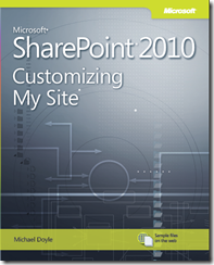 SharePoint 2010 Customizing My Site Book Cover