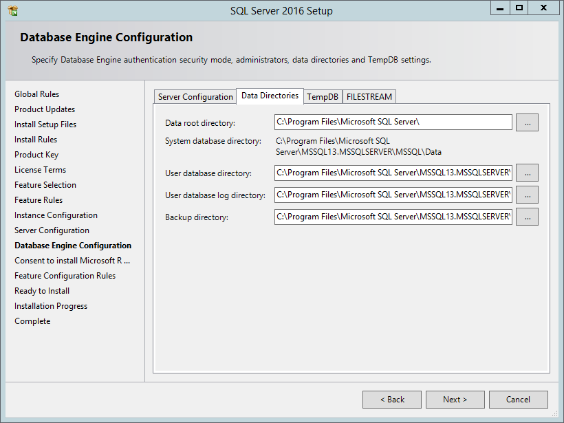 installing sql server 2016 with r services in a development environment darrin bishop