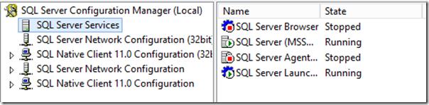 SQL Server 2016 Services