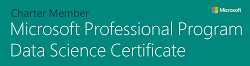 Microsoft Professional Program Data Science Certificate