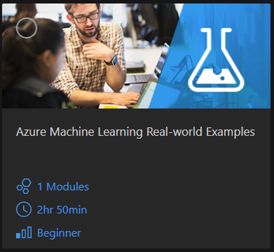 Microsoft AI School's Azure Machine Learning Track